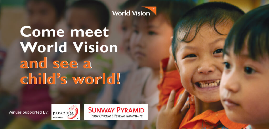 Come meet World Vision and see a child's world!