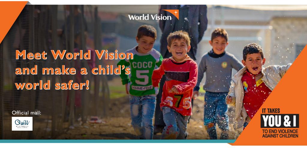 Meet World Vision and make a child's world safer!