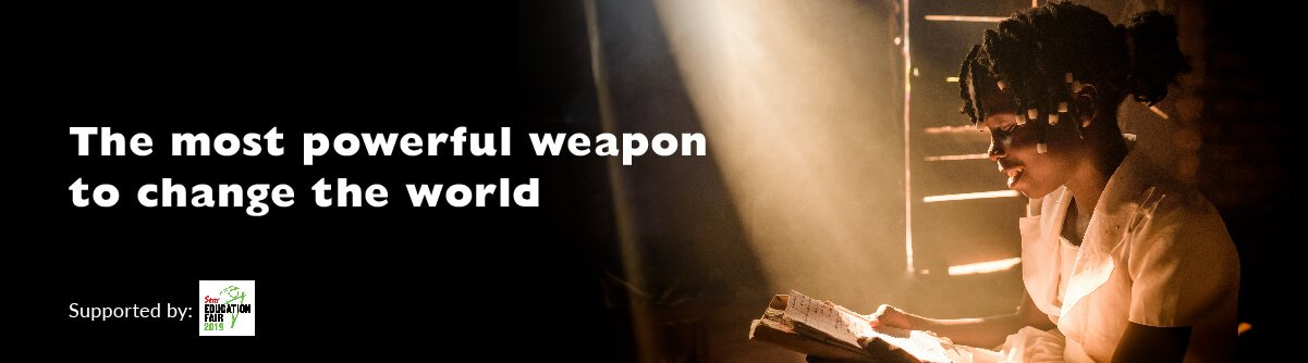The most powerful weapon to change the world