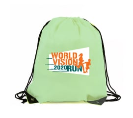 World Vision Malaysia #RunForChildren - drawstring bag