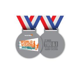 World Vision Malaysia #RunForChildren - medal