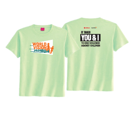 World Vision Malaysia #RunForChildren - t-shirt