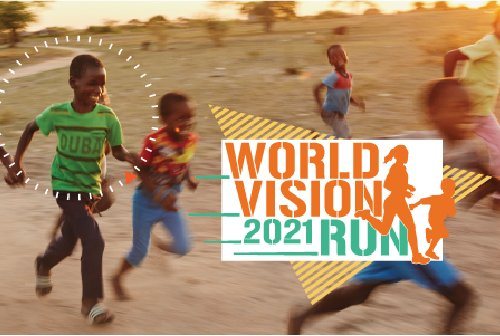 Stepping it up for the 42 rights of children during the virtual #RunForChildren this year.