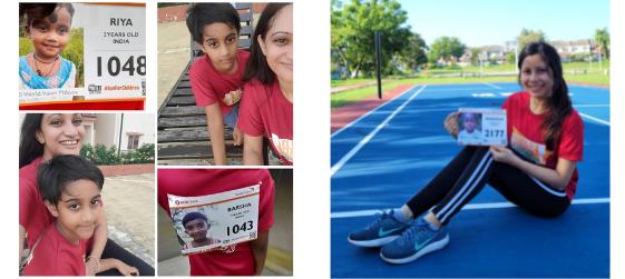 2021 #RunForChildren Runners