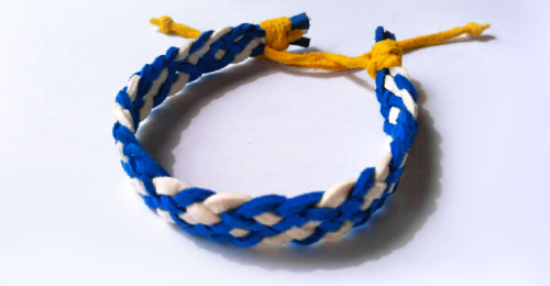 Wristband of Hope (for illustration purposes only)